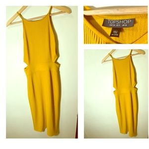 Yellow Top Shop Dress